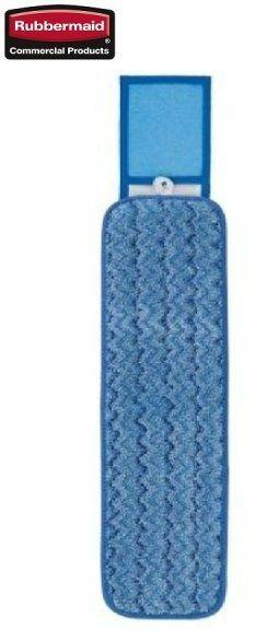 Mop HYGEN  z mikrofibry do czyszczenia na mokro ze skrobaczką 40cm