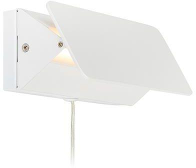 Kinkiet Card 107330 Markslojd nowoczesna oprawa w kolorze białym