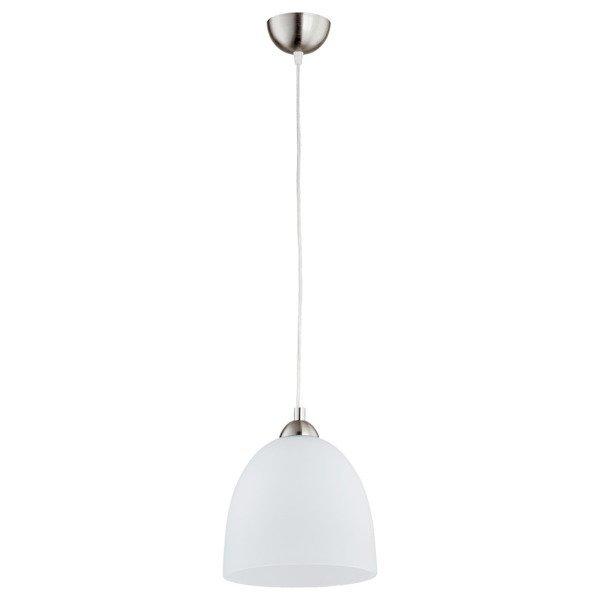 Lampa wisząca zwis DOLOMIT biały/chrom śr. 23cm
