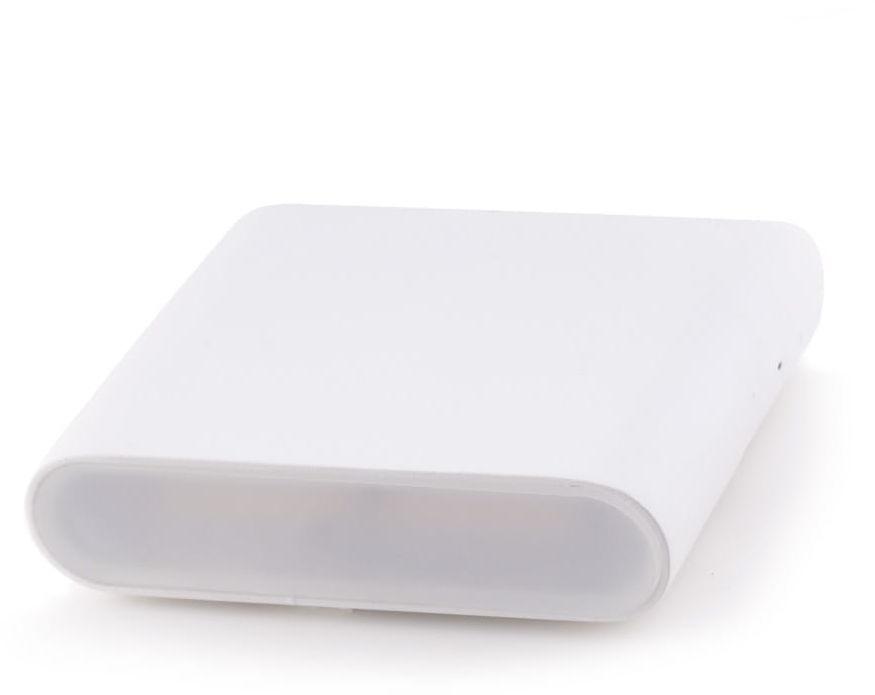 Maxlight ZONE I W0200 kinkiet lampa ścienna metal biały 2x3W LED 3000K 11,5 cm IP44