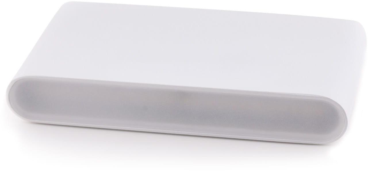 Maxlight ZONE II W0201 kinkiet lampa ścienna metal biały 2x4W LED 3000K 17,5 cm IP44