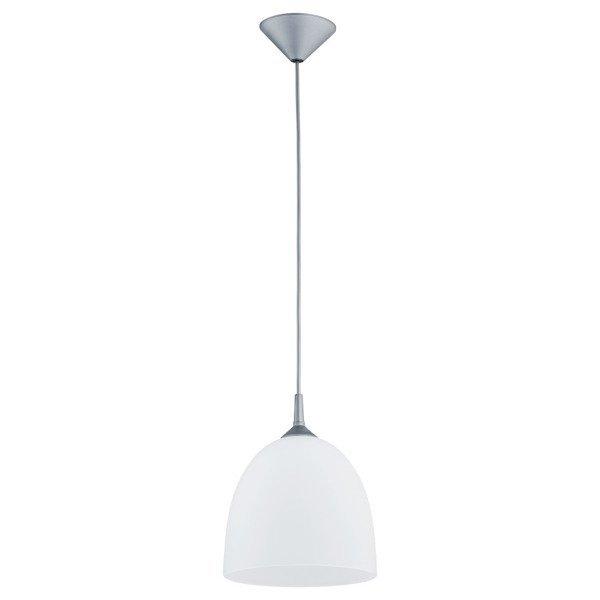 Lampa wisząca zwis DAWID biały/szary śr. 23cm