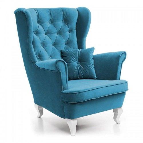 Fotel do salonu w stylu skandynawskim USZAK 4 / kolory do wyboru