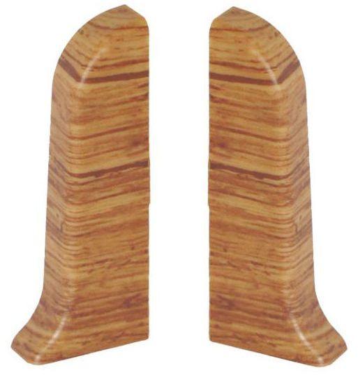 Narożnik zewnętrzny do listwy przypodłogowej Ergo 56 Dąb podlaski 2 szt.