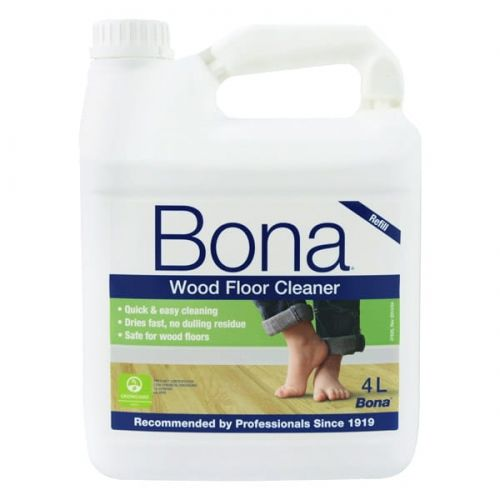 BONA - Środek do czyszczenia podłóg drewnianych - 4 L