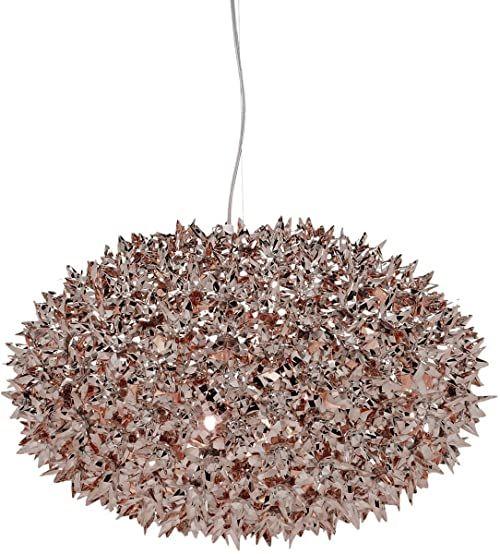 Kartell Bloom, lampy wiszące, średnie, brąz