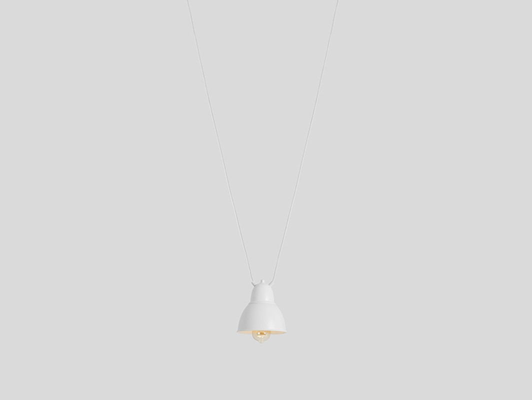 Lampa wisząca COBEN HANGMAN 1 - biały - Customform