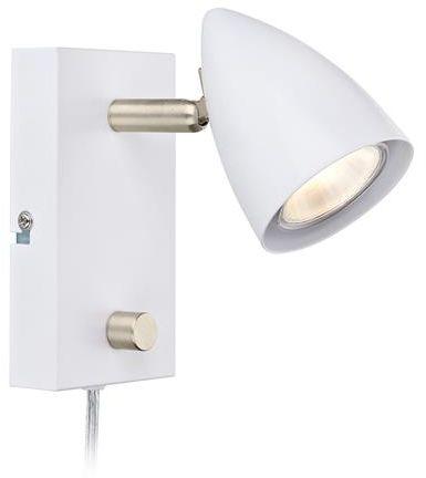 Kinkiet Ciro 107408 Markslojd nowoczesna oprawa w kolorze białym