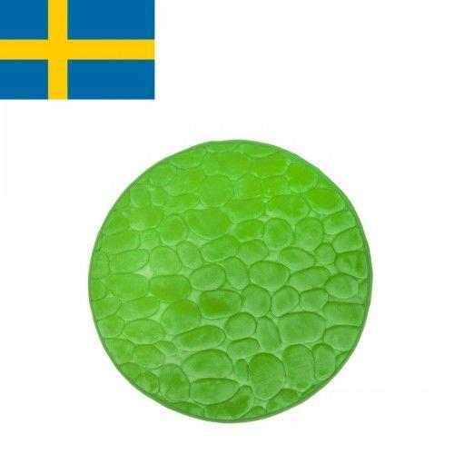 Dywanik łazienkowy Zielony, fi 60cm
