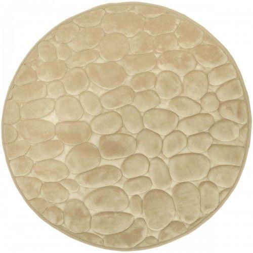 Dywanik łazienkowy Jasno szary, fi 60cm