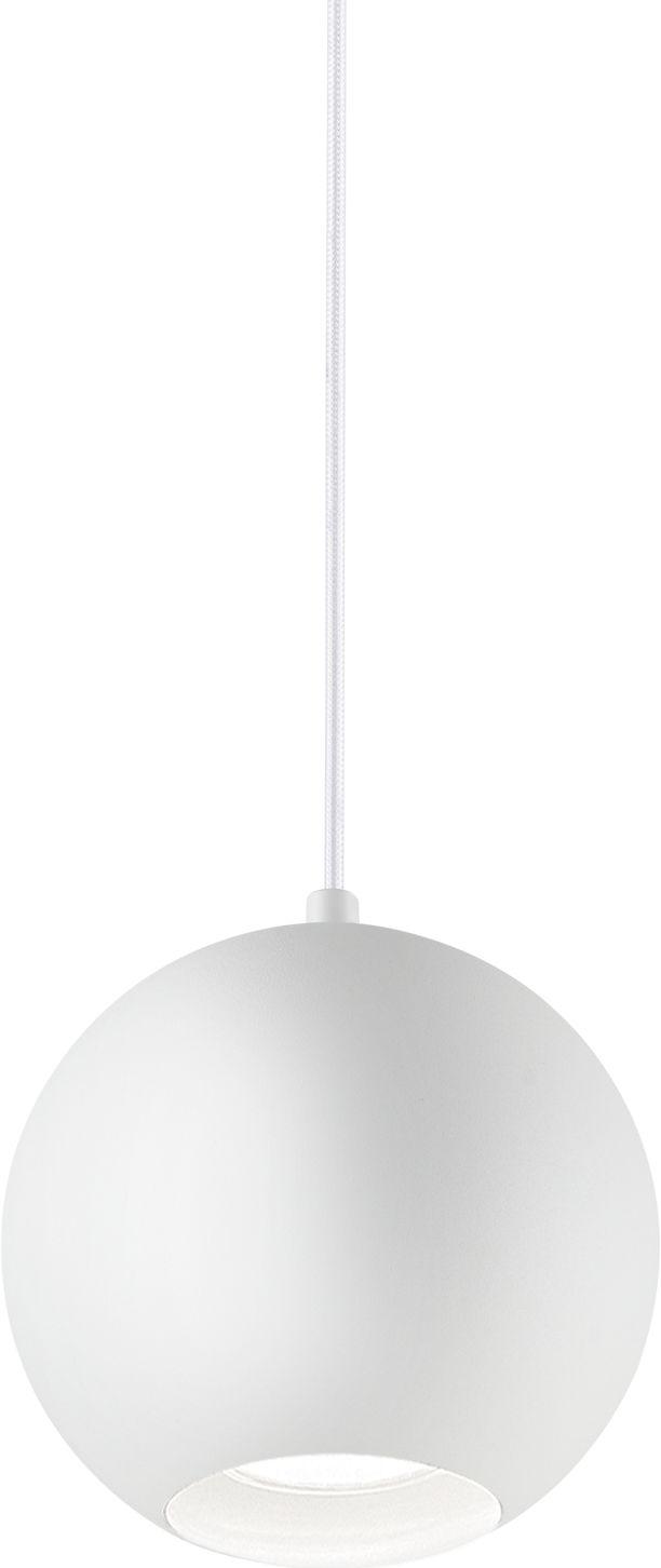 Lampa wisząca Mr Jack SP1 Big 231273 Ideal Lux pojedyńcza oprawa świetlna w kolorze białym