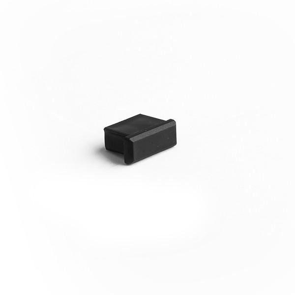 Zaślepka do profilu micro-alu - czarna - 24068