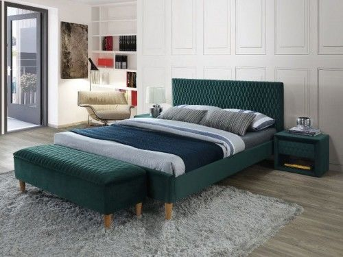 Łóżko Azurro Velvet