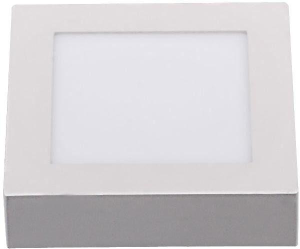 Oprawa sufitowa led - 7w - kwadrat natynkowa