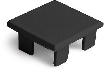 Zaślepka do profilu lipod - czarna - 24263