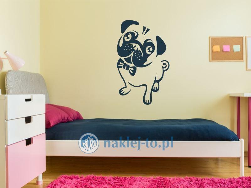 Pies naklejka na ścianę naklejka na ścianę