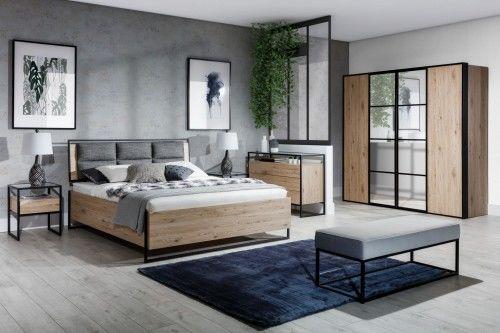 Łóżko Glass Loft