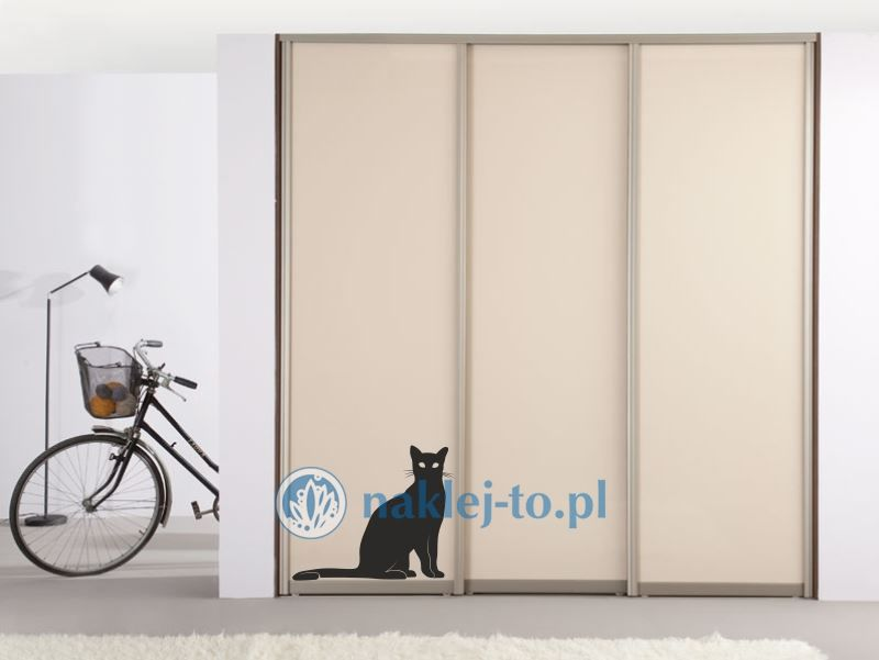 Kot 3 naklejka na ścianę