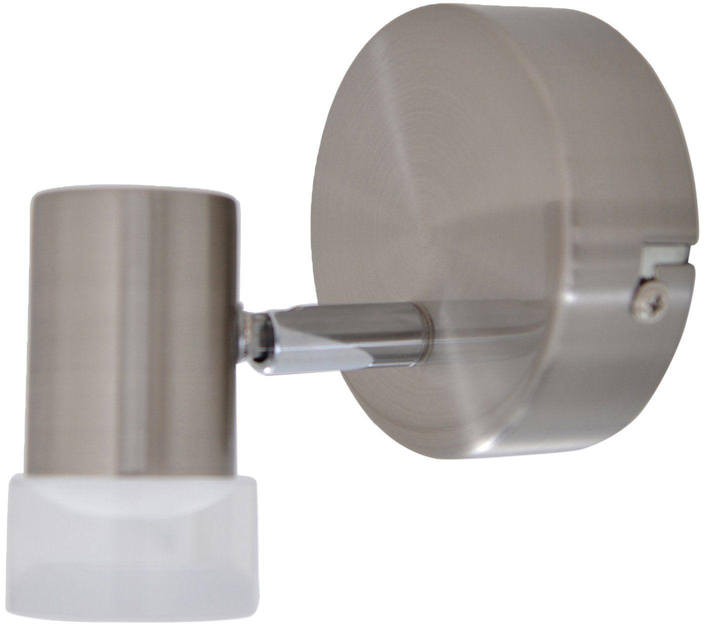 Näve Leuchten 1 lampa ścienna U. Lampa sufitowa LED Malaga, metal, stal, 7 x 4 x 10 cm