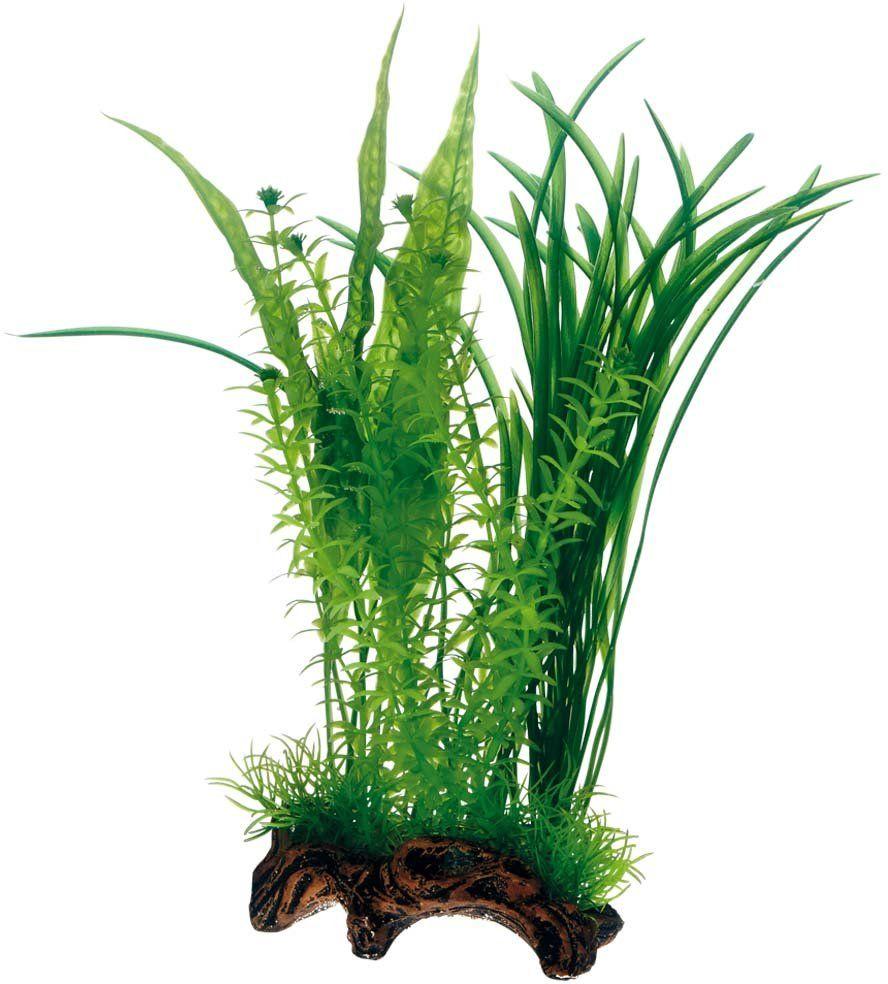 Hobby 51594 Flora Root 1, imitacja korzeni, ze sztucznymi roślinami, L