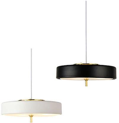 Art Deco 2000 - lampa wisząca czarna