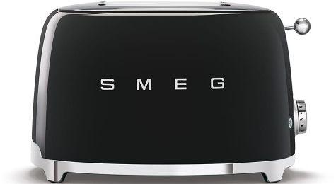 Toster na 2 kromki SMEG czarny