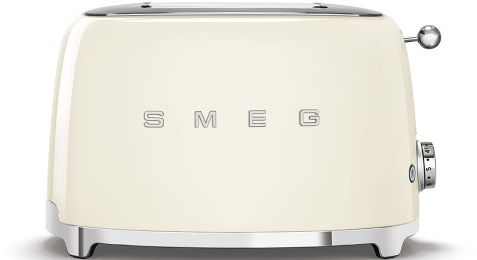 Toster na 2 kromki SMEG kremowy