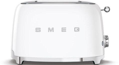 Toster na 2 kromki SMEG biały