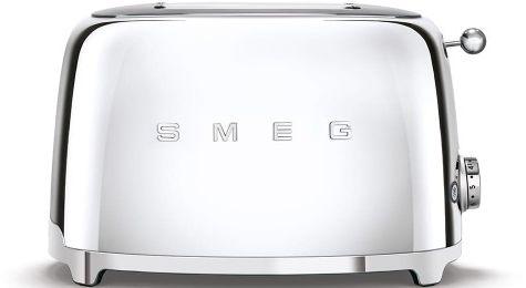 Toster na 2 kromki SMEG chrom