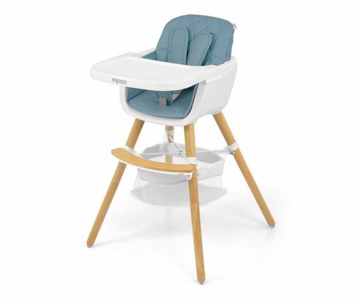 Krzesełko do karmienia 2w1 Espoo Blue