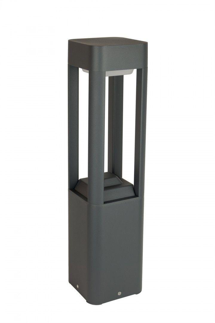 Lampa ogrodowa stojąca Fan kwadrat 50cm IP54 antracyt FKW-500 - Su-ma // Rabaty w koszyku i darmowa dostawa od 299zł !