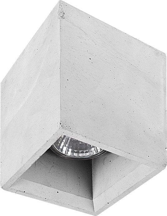 Plafon Bold S 9388 Nowodvorski Lighting sześcienna betonowa oprawa natynkowa