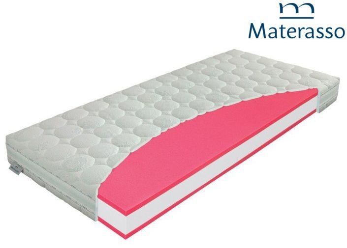 MATERASSO ANTIBACTERIAL - materac wysokoelastyczny, piankowy, Rozmiar - 100x200 NAJLEPSZA CENA, DARMOWA DOSTAWA