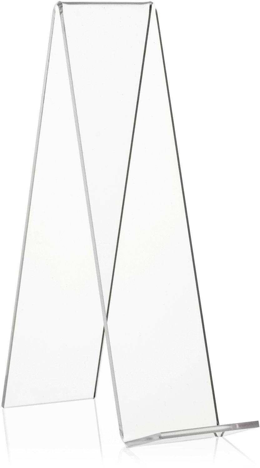 VITAdisplays podpórka na towary, szkło akrylowe PLEXIGLAS (PMMA), przezroczysta, 20 cm, 10