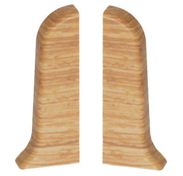 Narożnik zewnętrzny do listwy przypodłogowej Ergo 56 Dąb klasyczny 2 szt.