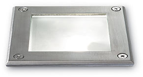 Oprawa gruntowa PARK PT1 SQUARE 117881 -Ideal Lux