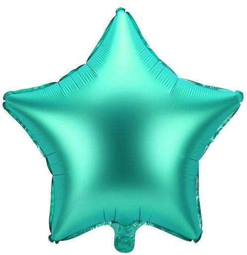 Balon foliowy Gwiazdka 48cm zielony FB3S-012