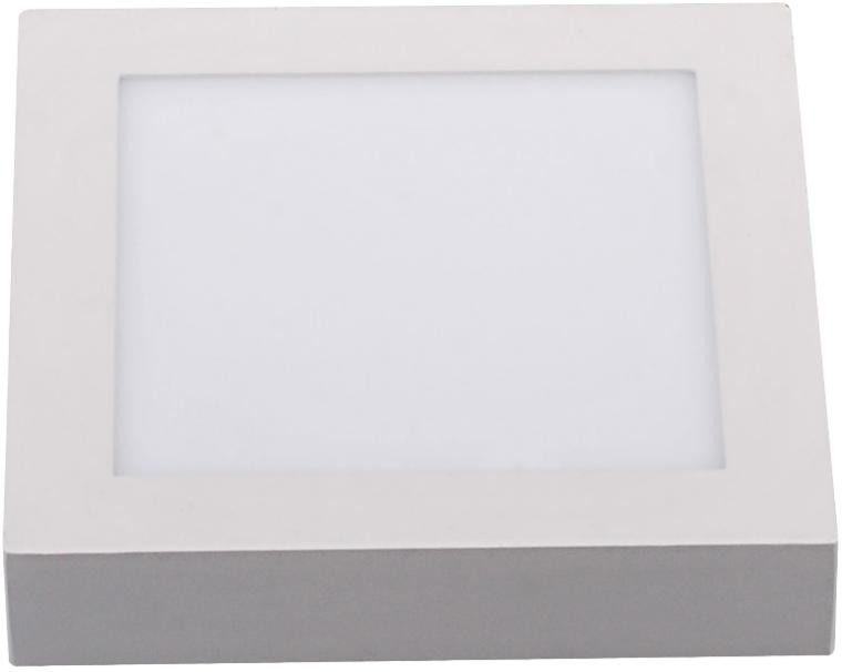 Oprawa sufitowa led - 18w - kwadrat natynkowa