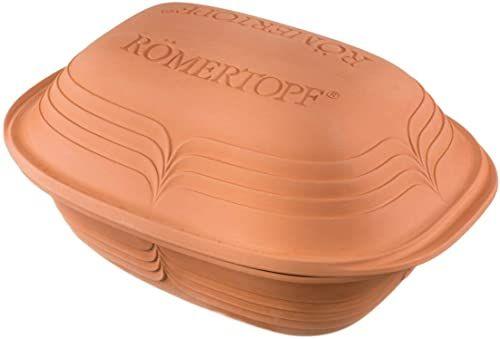 Römertopf Brytfanna nowoczesny wygląd ceramika parowar 3 litry, model sortowany