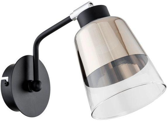 Lampa ścienna KAPITOL I czarny śr. 35cm
