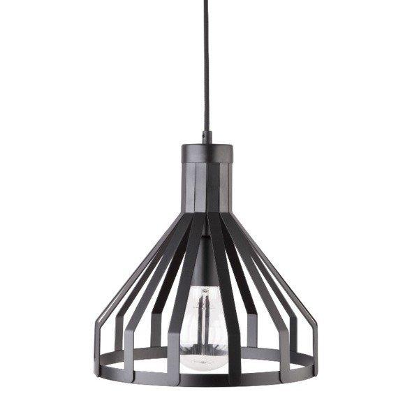 Lampa wisząca KOLA czarna z drutu 28cm