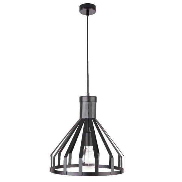 Lampa wisząca KOLA czarna z drutu 33cm
