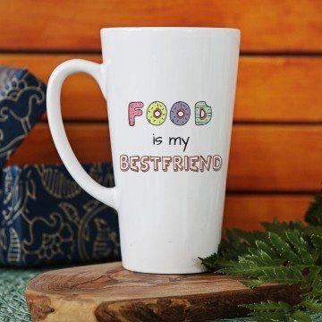 Food is my Best friend - Kubek