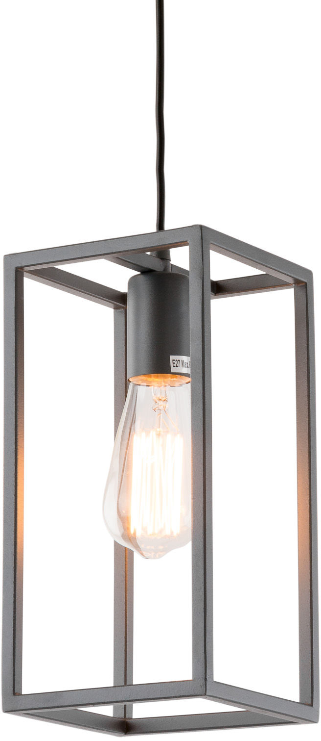 Lampa wisząca Sigalo MD-BR4366-D1 GR Italux szara dekoracyjna lampa wisząca