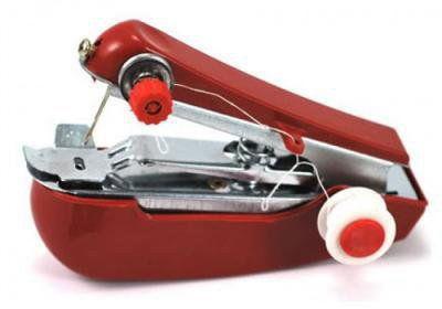 Ręczna maszyna do szycia - czerwona