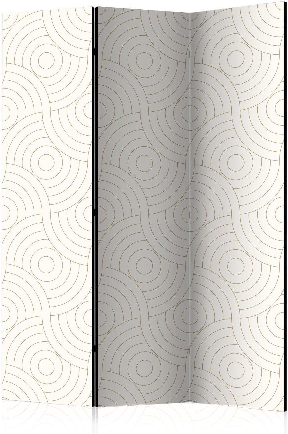 Parawan 3-częściowy - rolki [room dividers]