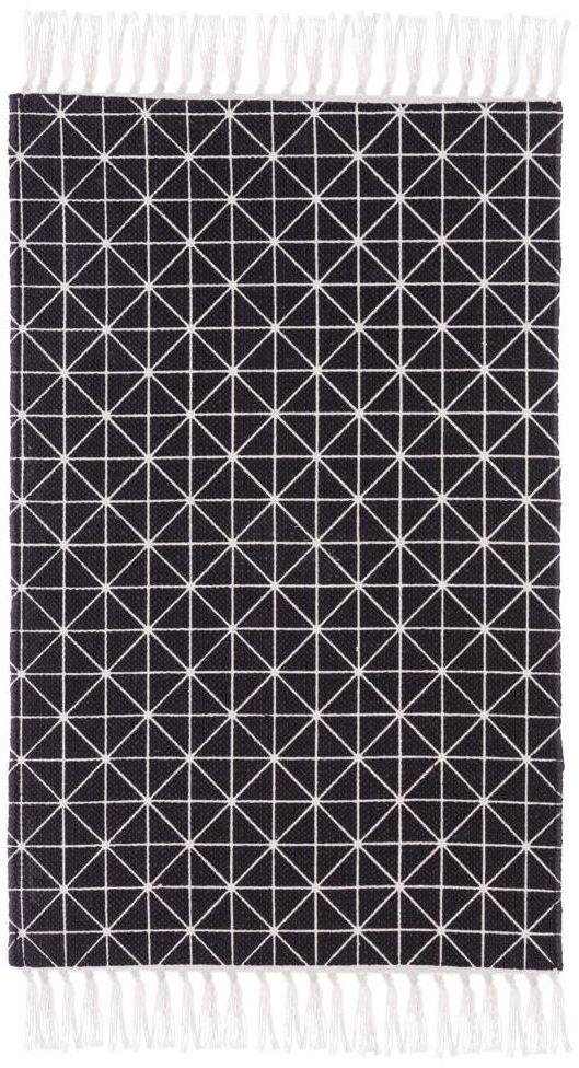 Dywan bawełniany Cloe antracyt 50 x 80 cm Inspire