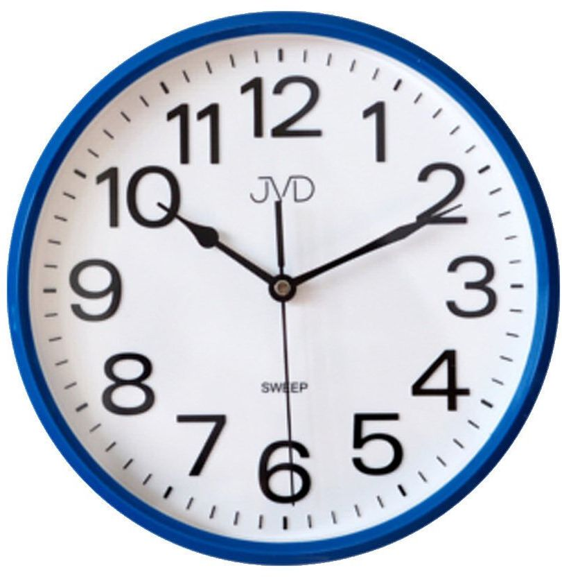 Zegar ścienny JVD HP683.3 Cichy mechanizm
