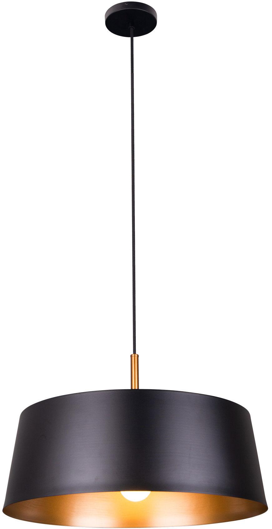 Lampa wisząca TALLIN P0401 Maxlight czarno-złota oprawa w stylu nowoczesnym
