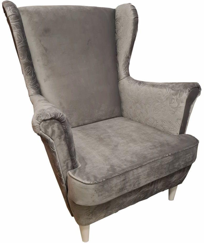 Fotel uszak Lily Decor w stylu skandynawskim